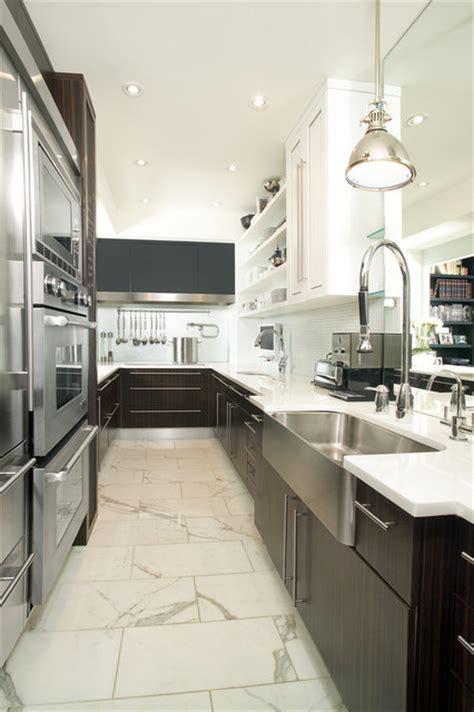 Galley Kitchen  Contemporary  Kitchen  Toronto By