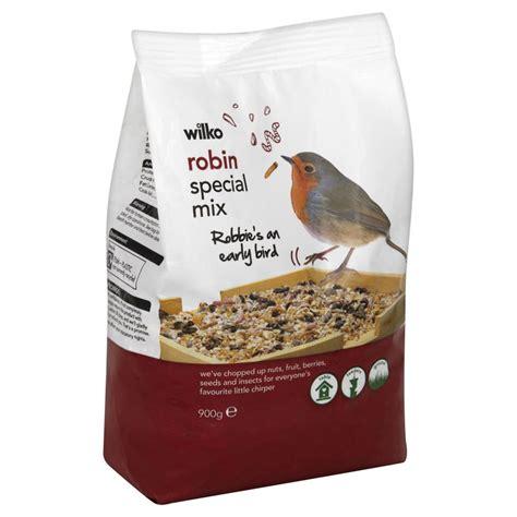 wilko wild bird robin seed 900g at wilko com