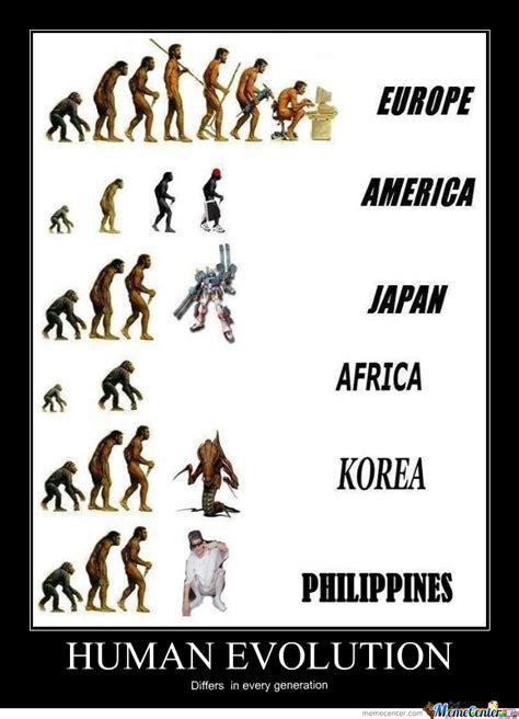 Evolution Memes - human evolution by reirhart luna meme center