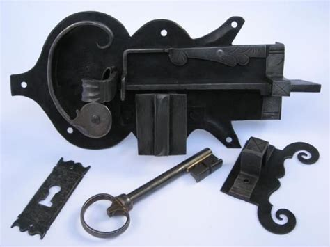 hand  hand forged iron door locks  js benson