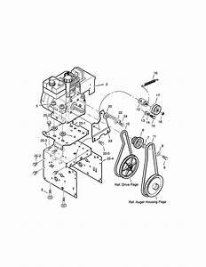Craftsman 30 U0026quot  11 Hp Snowthrower Parts