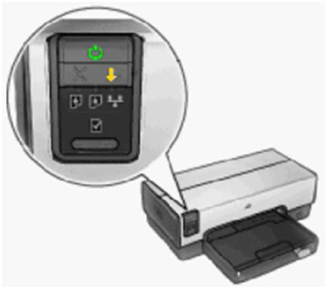Hp Resume Button by Blinking Lights On The Hp Deskjet 6940 6940dt And 6943 Printer Series Hp 174 Customer Support