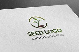 Business Architecture Seed Logo Logo Templates On Creative Market