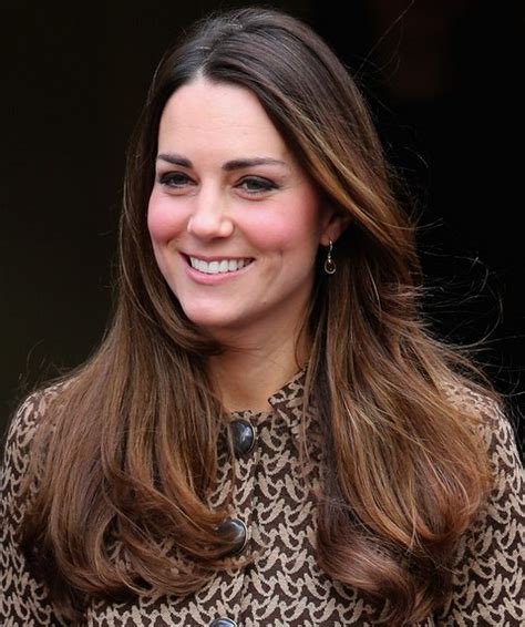 kate middleton hairstyles 2014 ombre long wavy haircut