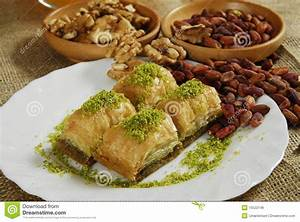 Baklava - Turkish Dessert -baklawa Royalty Free Stock ...