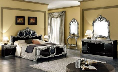 italy leather high  bedroom furniture overland