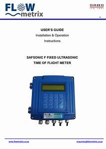 Safsonic F Manual