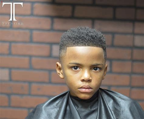 Line Up Haircut For Black Boy