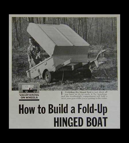 Fold Up Boat Trailer Plans by Mini Travel Trailer Deals On 1001 Blocks