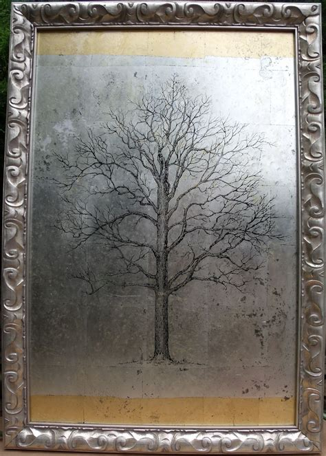 security check required mirror painting etched mirror gold leaf painting