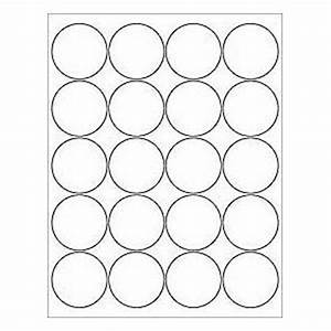12 sheets 240 2 blank white round circle printable for Blank round stickers for printing