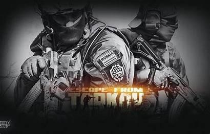 Tarkov Escape Bear Wallpapers Pmc Desktop Battlestate