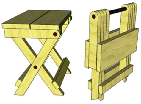 folding stool   woodworking plansd woodworking plans