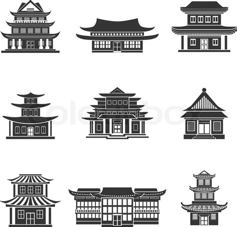 chinese house ancient temples traditional oriental