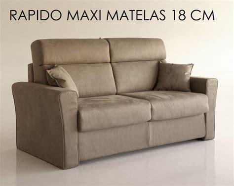 rapido canape canape systeme rapido longo convertible 140 195cm matelas