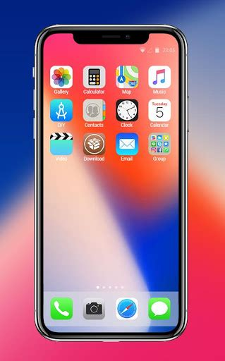 Download Theme For New Iphone X Hd:ios 11 Skin For Pc