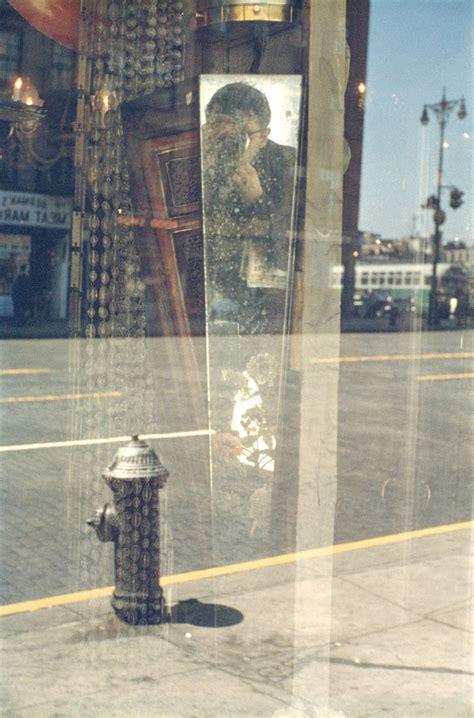 foto saul leiter  york reflections   selfie