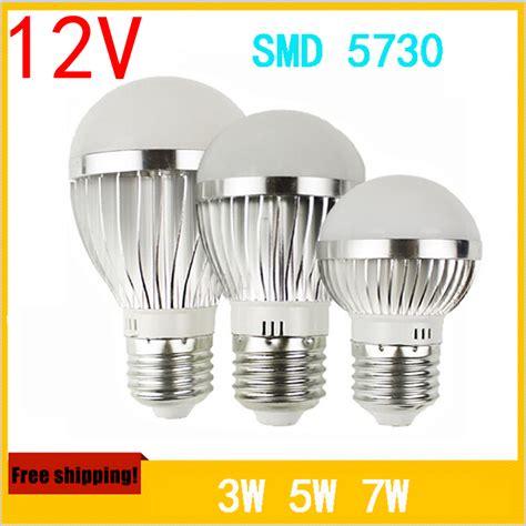 2pcs 12 volt led bulb 3w 5w 7w 24 volt dc led bulbs solar
