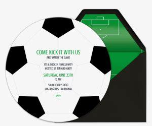 soccer  invitations evite