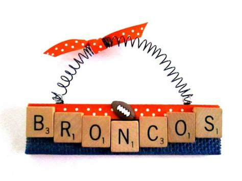 broncos football ornaments fun stuff scrabble