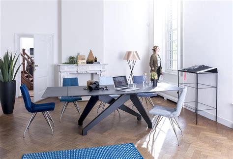 canape concept enzo table a rallonge 2 x 40 x 100 cm lava anthracite