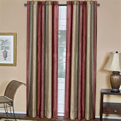 Burgundy Curtains for Living Room Ideas : Classy Burgundy