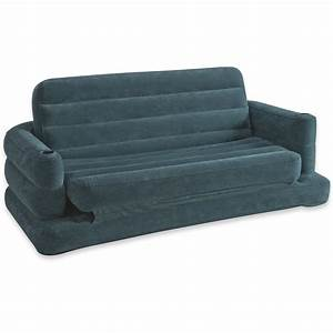 intex inflatable pull out sofa airbed bedroom waterproof With intex sofa bed