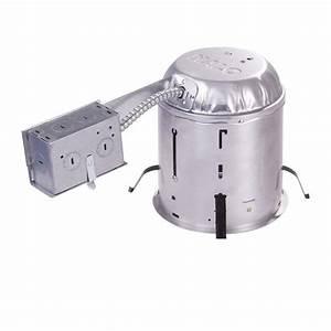 Halo h in aluminum recessed lighting housing for