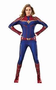 Captain, Marvel, Hero, Suit, Ladies, Fancy, Dress, Comic, Book, Superhero, Adults, Costume