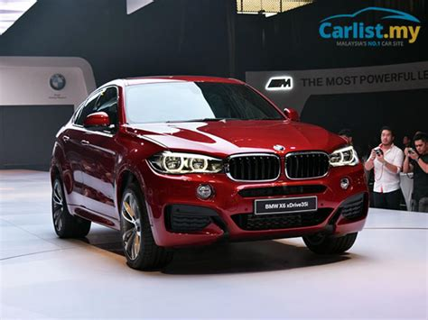 2015 F16 Bmw X6 Launched In Malaysia, Xdrive35i M Sport