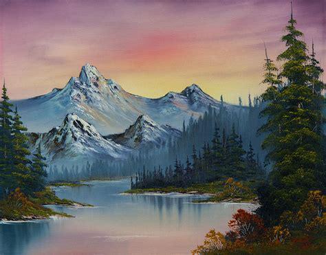 Evening Splendor Painting By C Steele