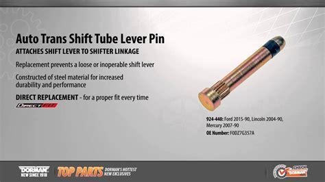 auto trans shift tube lever pin youtube