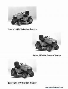 John Deere Sabre 2048hv 2254hv 2554hv Tractors Tm1741