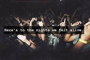 A great night o... Awesome Party Night Quotes