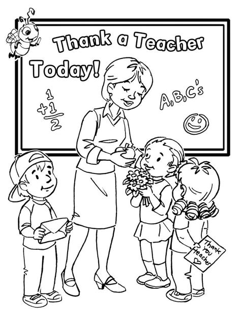 Teacher coloring page from College category Coloring