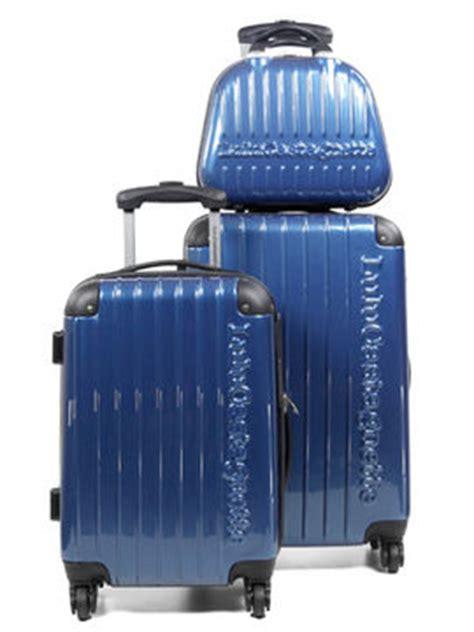 ensemble 2 valises lulu castagnette nce et vanity bleu 15221 3blu