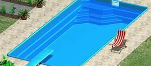 Laminátový bazén set