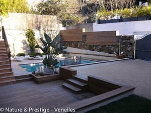 projets impressionnant amenagement petit jardin avec With amenagement petit jardin avec terrasse et piscine