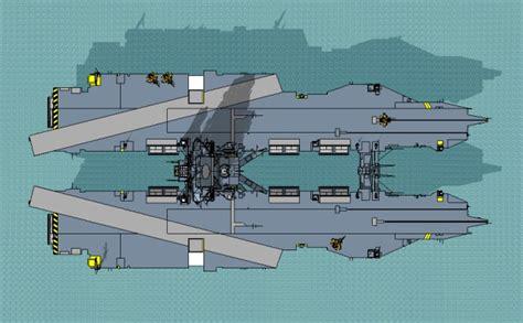 Catamaran Aircraft Carrier Russia by A Catamaran Aircraft Carrier