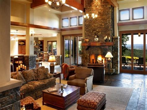 French Country Living Room With Options Bamboo Flooring