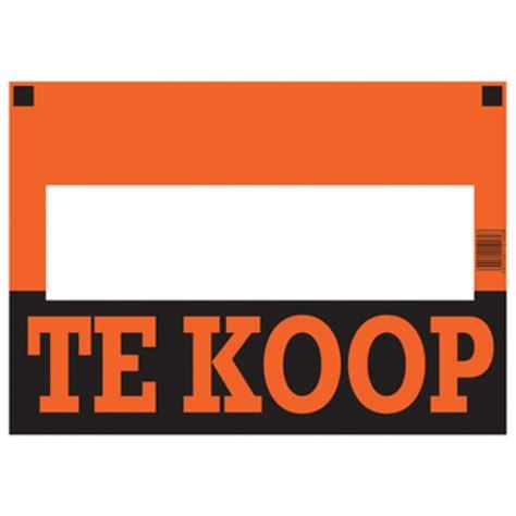 Te Koop Yde by Affiche Te Koop Pak Van 10 Stuks Papiershop Be