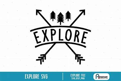 Svg Explore Camping Cricut Explorer Wander Mountain