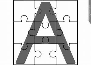 printable abc puzzles With letter puzzle for kids