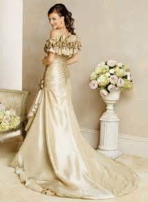 chagne colored wedding dress cheap color wedding dresses sweetheart mermaid wedding inspiration trends