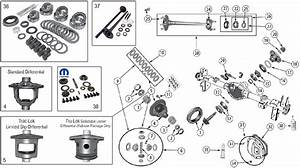 Diagrams For Jeep    Axle  U0026 Differential    Model 44 Rear