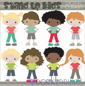 Respectful Kids Clipart -Personal and Limited Commercial ...
