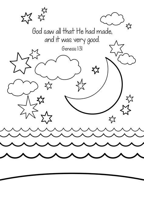 coloring pages for sunday school lessons printable free