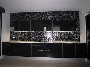 carrelage cuisine mosaique mosaque sol et mur byzance With carrelage adhesif salle de bain avec plaque a led