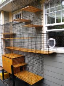 outside cat enclosure enclosed litter box in an outdoor cat enclosure beautiful