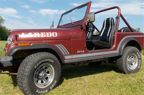 jeep cj laredo sport utility  door   sale